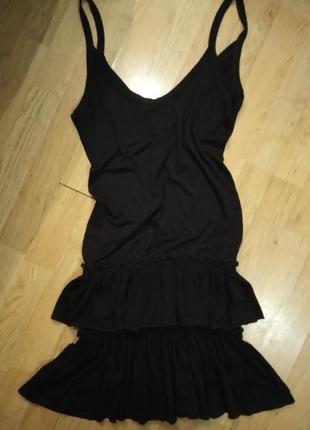 Платье сарафан трикотажное2 фото