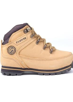 Детские ботинки firetrap rhino junior boots honey/brown