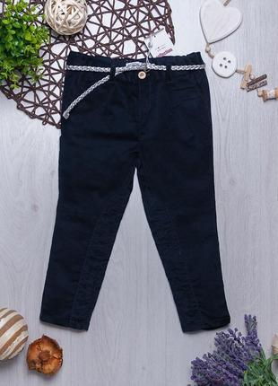 Велюровые брюки для девочки piazza italia италия