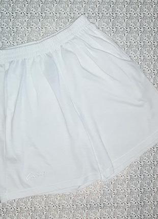 Акция 2=4 фирменные белые короткие шорты, размер 44 - 46