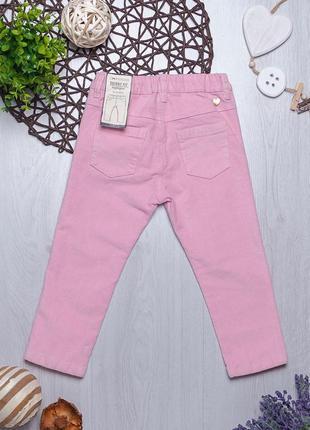 Велюровые брюки для девочки piazza italia италия2