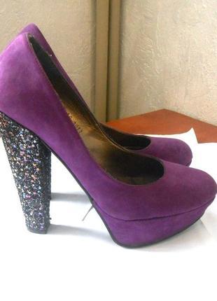 Шикарные туфли от европейского  бренда schuh, р.37 код k3709