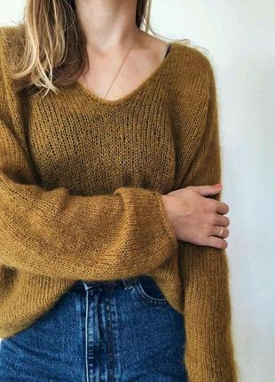 Лёгкий свитерок из кид мохера