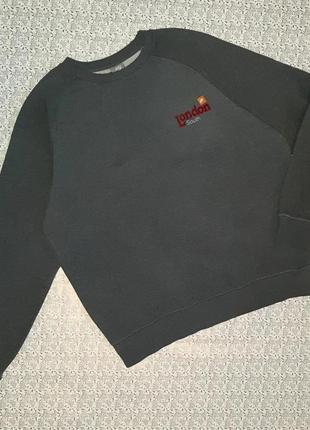 Фирменная серая толстовка свитер nike оригинал, размер 48 - 50