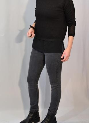 852/50 черный свитер zara м