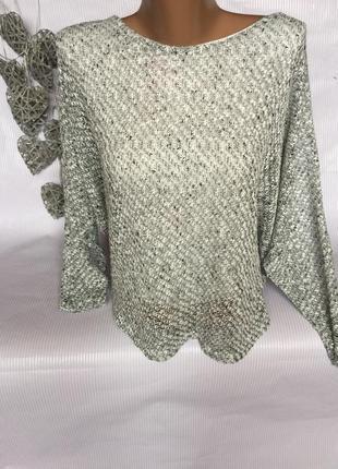 Легкий свитер италия