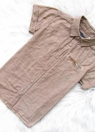 Стильная и качественная рубашка с коротким рукавом tu.