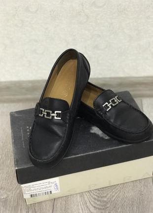 Крутые туфли мокасины geox 34 размер на мальчика