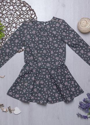 Нарядное трикотажное платье для девочки ovs италия