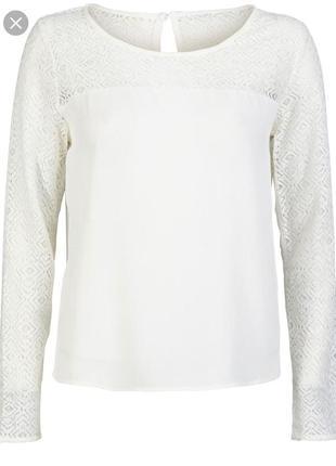 Новая фирменная блуза кружевные рукава от only