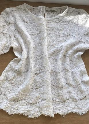 🔥 black friday 🔥  кружевная блуза iren klairie