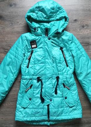 Деми куртка парка р.152-158 13-14 лет на девочку