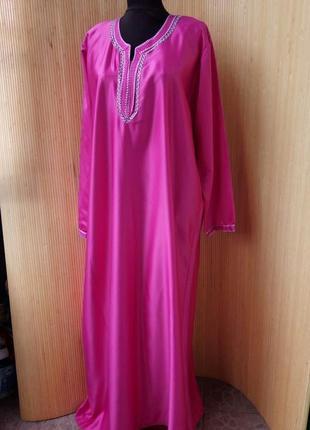 Длинное платье в этно стиле / абая / галабея