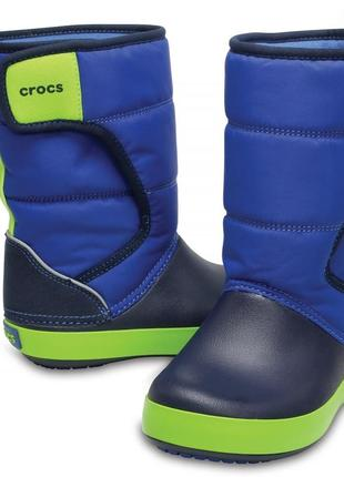 Зимние сапоги crocs lodgepoint