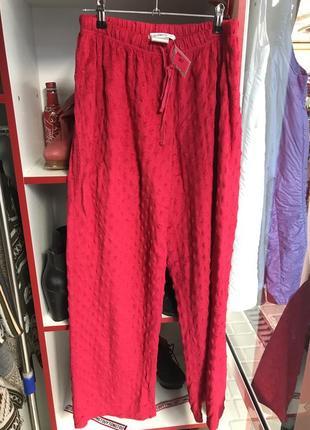 Домашние ночные мягкие штаны