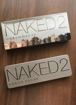 Палетка теней naked 2 urban decay