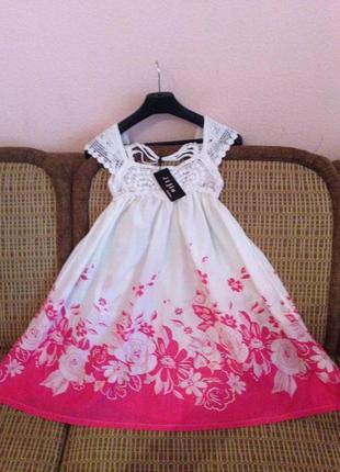Легкое свободное платье