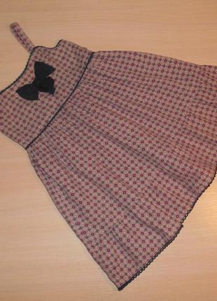 Летнее платье, сарафан young dimension 2-3 года, 92-98 см