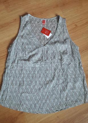 Хлопковая блуза 46р.