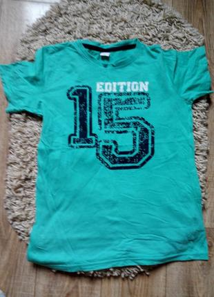 Фирменная футболка на подростка