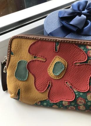 Сумка клатч кошелёк с ремешками