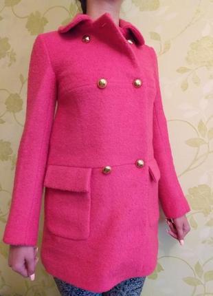 Пальто красивый цвет теплое
