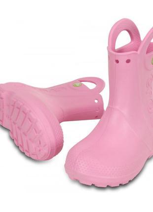 Сапоги crocs handle it rain boot, с11, с12, с13, j1, j2