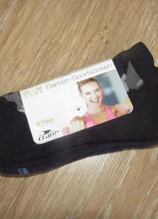 Функциональные носки для спорта 2 пары с махровой стопой р.35-38