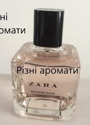 Zara wonder rose 100 ml мл духи парфюм туалетная вода tuberose gardenia orchid oriental