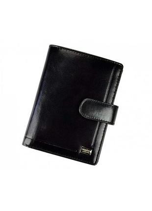 Мужской кожаный кошелек rovicky pc-101l-bar rfid