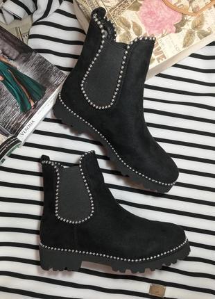 Новые качественные ботинки демисезонные деми