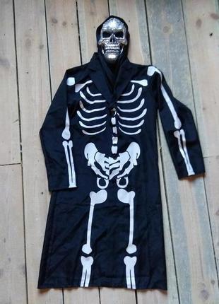Карнавальный костюм скелет кощей на взрослого