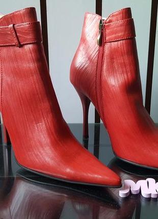 Женские классические ботинки на каблуке blue tempt 000, 37 размер