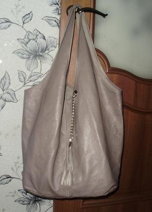 Globus кожаная сумка - шоппер