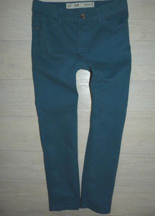 Котоновые брюки, штаны denim 9-10 лет