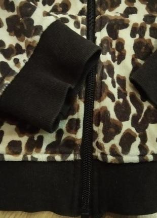 Кофта тигровая кенгурушка4 фото