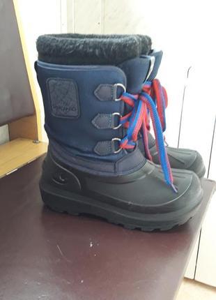 Сапоги ботинки viking 33р  длина валенка 22см на ножку 21-21,5см2