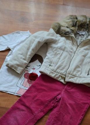Итальянская куртка mika vero р.134-140
