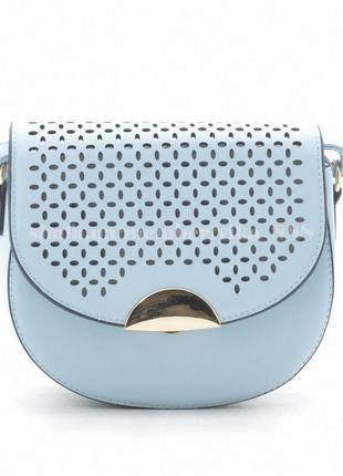 Клатч, сумка через плечо 488 голубой