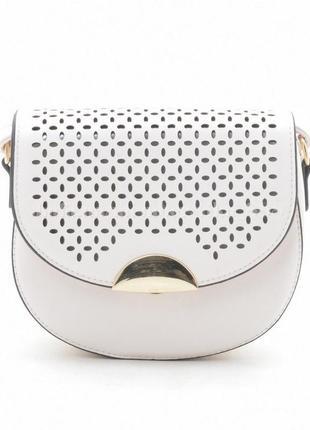 Клатч, сумка через плечо 488 светло-кремовый