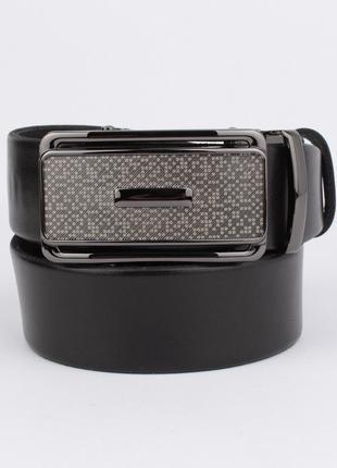 Кожаный ремень автомат мужской универсальный 8005-311 черный, коричневый, темно-синий