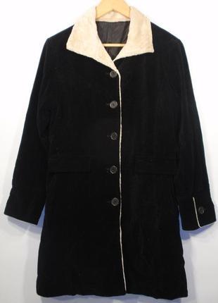 Красивое пальто велюровое легкое летнее р. м
