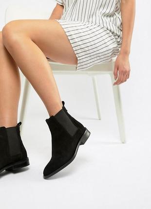 Замшевые ботинки челси  от reserved