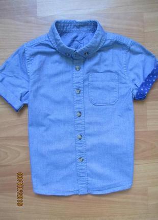 Рубашка f&f на 3-4 года