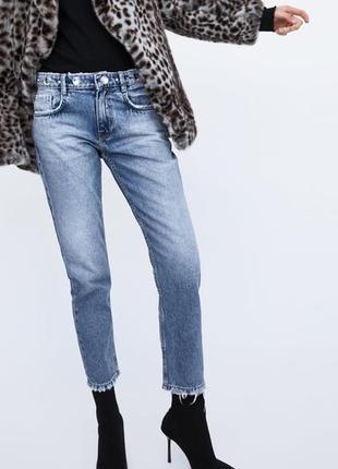 Женские джинсы Zara 2019 - купить недорого вещи в интернет-магазине ... 11f94c1493ee7