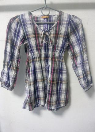 Туника рубашка на девочку 122/128 см
