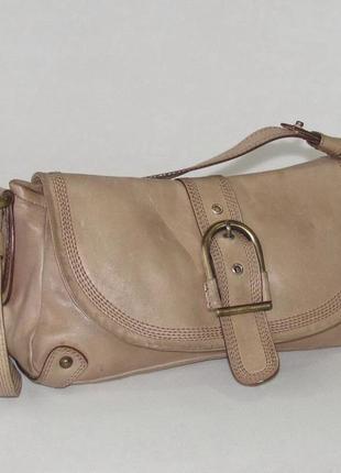Элегантная сумка nicoli, италия, натуральная кожа