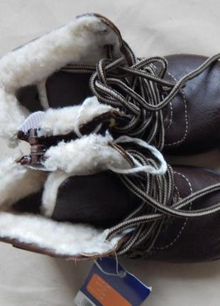 Детские зимние ботинки lupilu 24р сток германия3