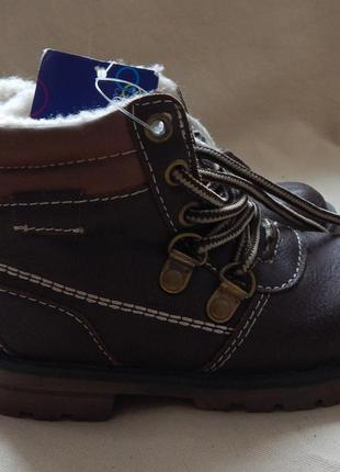 Детские зимние ботинки lupilu 24р сток германия