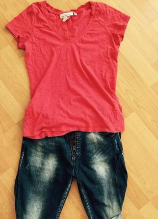 Красная футболка от h&m
